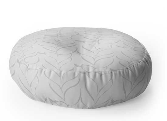 CALM BREEZY FERN Floor Pillow - Wander Print Co.