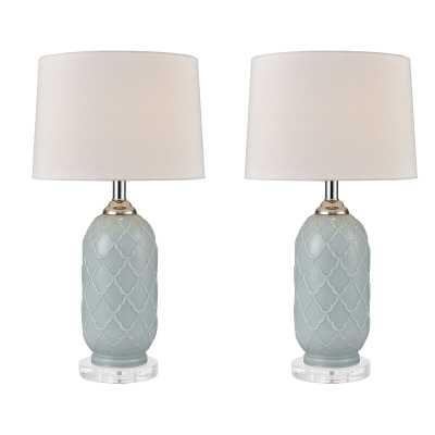 "Mauricio 24"" Table Lamp Set (Set of 2) - Wayfair"