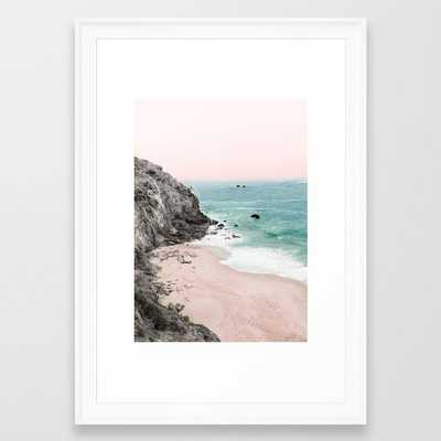 Coast 5 Framed Art Print - Society6