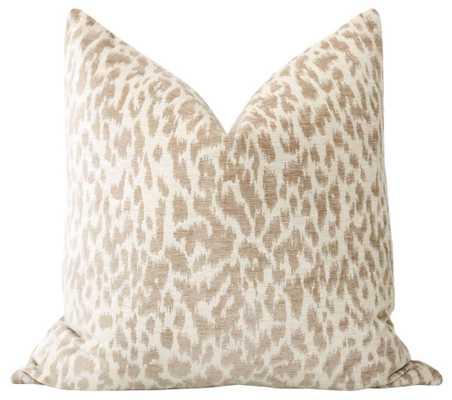 Neutral Leopard Chenille - Little Design Company