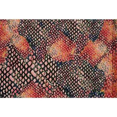 rainbow snake rug 8'x10' - CB2