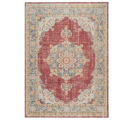 Anniyah Easy Care Synthetic Rug - Multi - Pottery Barn