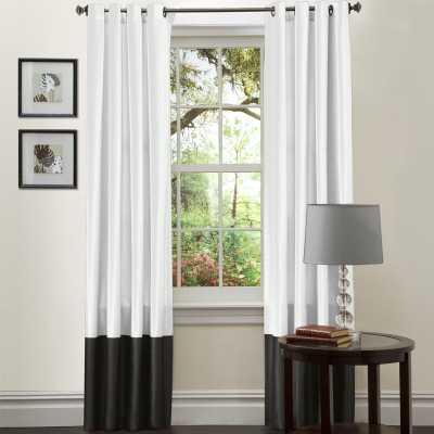 Riemer Solid Grommet Curtain Panels (Set of 2) - AllModern