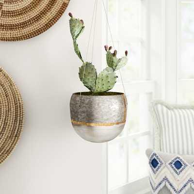 Beaulah Metal Hanging Planter - Wayfair