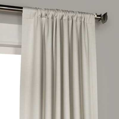 Clem Solid Blackout Rod Pocket Single Curtain Panel Beige/Tan 50x108 - Wayfair