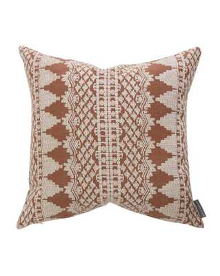 """LISBETH PILLOW WITHOUT INSERT, 20"""" x 20"""" - McGee & Co."""