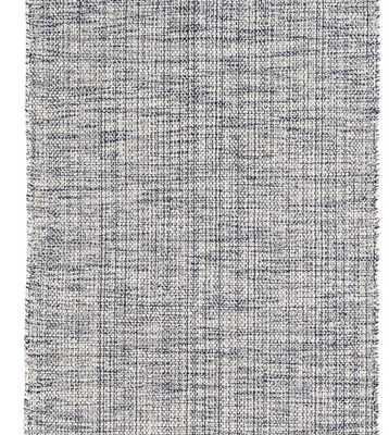 Marled Indigo Woven Cotton Rug - 6'x9' - Dash and Albert