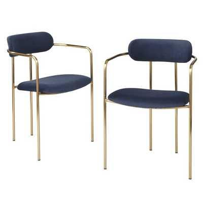 Carrigan Upholstered Dining Chair - Set of 2 - Wayfair