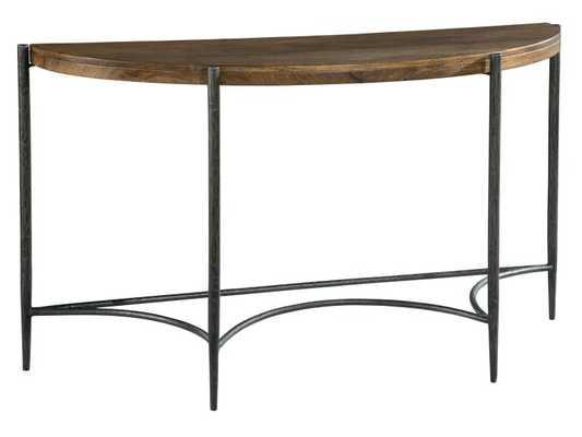 DEMILUNE CONSOLE TABLE - Perigold