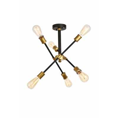 Johanne 6-Light Sputnik Chandelier - Wayfair