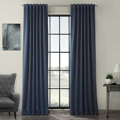 Betria Solid Color Room Darkening Rod Pocket Curtain Panels (Set of 2) - Wayfair
