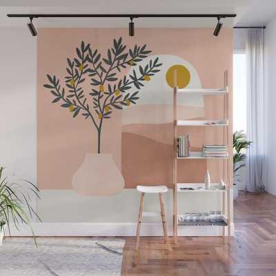lemon tree Wall Mural - Society6