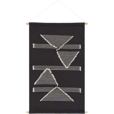 Cotton Modern Wall Hanging with Rod Included - AllModern
