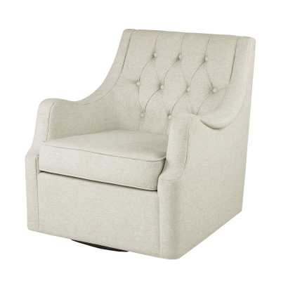 Rogersville Swivel Armchair - Wayfair
