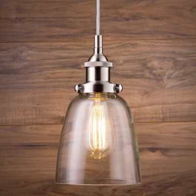 Bundaberg 1-Light Single Bell Pendant - Birch Lane