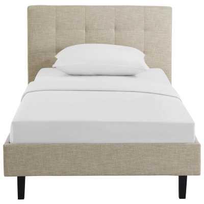 Molinaro Upholstered Platform Bed - Queen - Wayfair