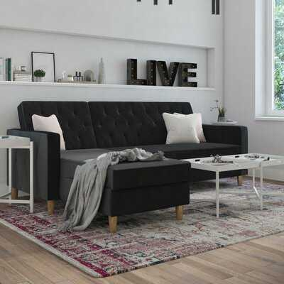 "Liberty 84"" Reversible Sleeper Sectional - Wayfair"