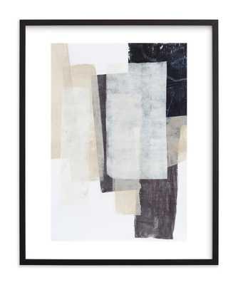 History Repeats - 24 x 30 - Black Frame- Standard Plexi & Materials- White Border - Minted