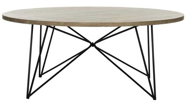 MARIS RETRO MID CENTURY ROUND COFFEE TABLE - Arlo Home