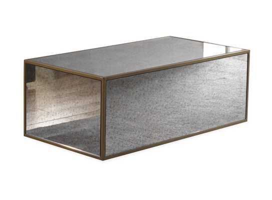 Presley Mirrored Coffee Table - Maren Home