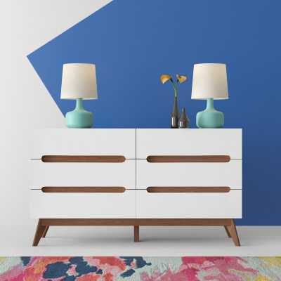 Cravens 6 Drawer Double Dresser - Wayfair