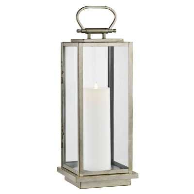 "Stanton 25"" Battery Powered Integrated LED Outdoor Lantern - Wayfair"
