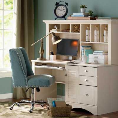 Pinellas Computer Desk with Hutch - Wayfair