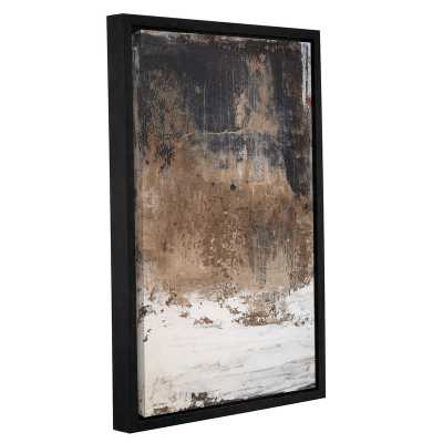 'Worn Abstract VI' Framed Graphic Art Print on Canvas - Wayfair