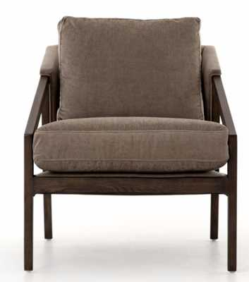 Earl Occasional Chair in Silver Sage - Burke Decor