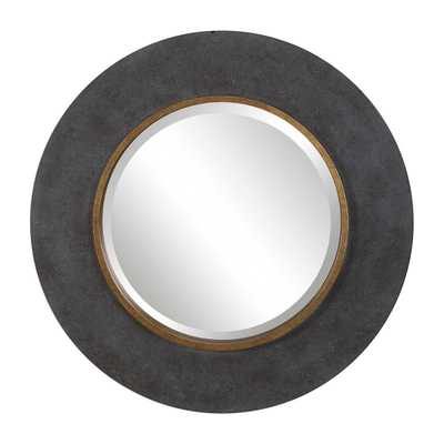 SAUL ROUND MIRROR - Hudsonhill Foundry