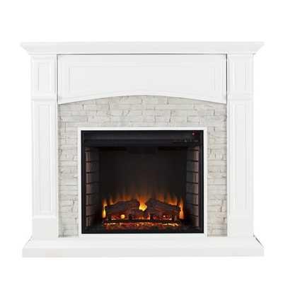 Shanley Electric Fireplace - Wayfair