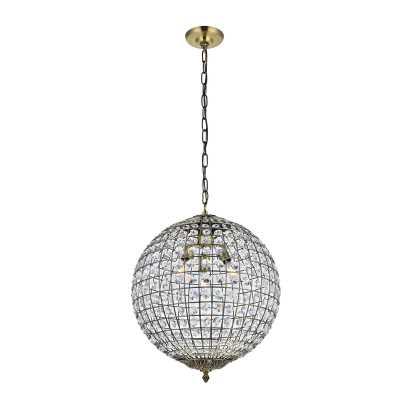 Bradburn 3 - Light Globe Pendant - Wayfair