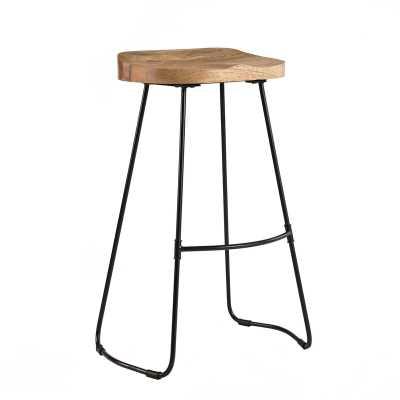 """Crooke Solid Wood 29.75"""" Bar Stool - Wayfair"""