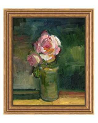 BLUSH BLOOM Framed Art - McGee & Co.