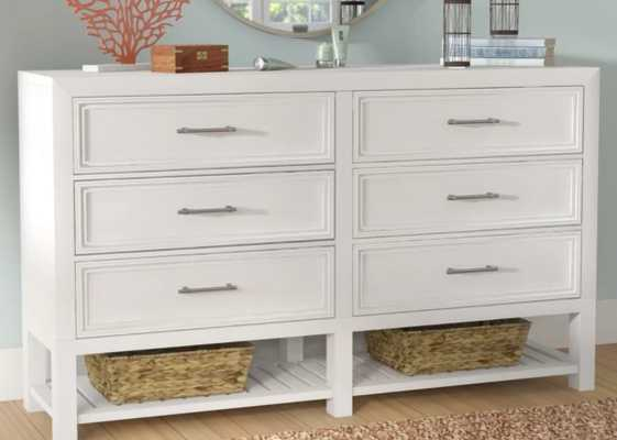 ELOSIE 6 DRAWER DOUBLE DRESSER - Birch Lane