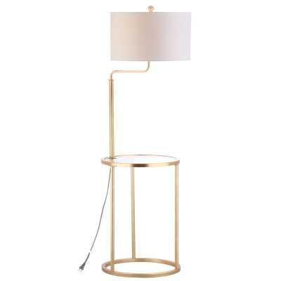 """Farlow Side Table 57"""" Floor Lamp - Wayfair"""