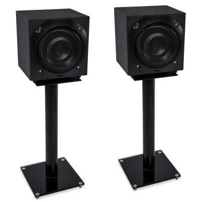 "25"" Fixed Height Speaker Stand (Set of 2) - Wayfair"