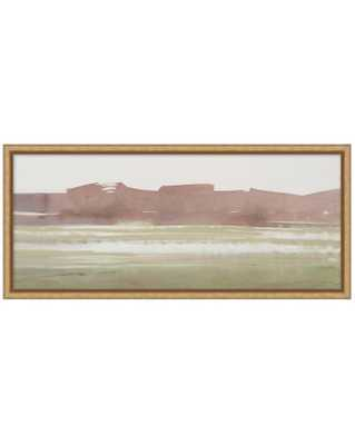 ABSTRACT LANDSCAPE 3 Framed Art - Small - McGee & Co.