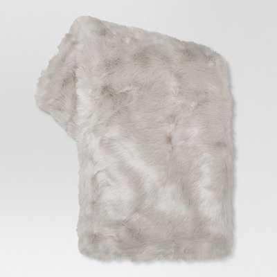 "Faux Fur Throw Blankets (50""x 60"") - Target"