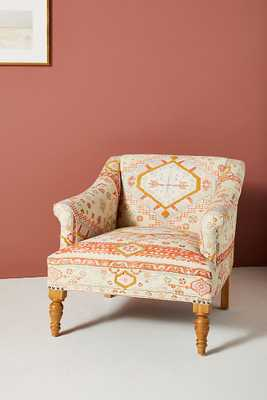 Rug-Printed Sally Accent Chair - Anthropologie