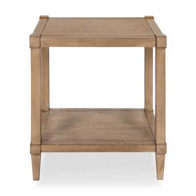 Gretchen Wooden Side Accent End Table with Storage - Wayfair
