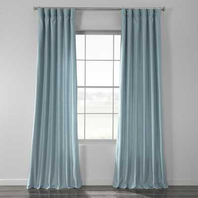 Dario 100% Cotton Room Darkening Thermal Rod Pocket Single Curtain Panel - Wayfair