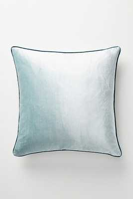 Adelina Slub Velvet Pillow - Anthropologie