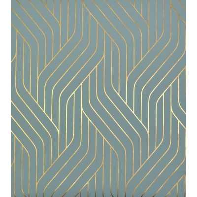 "Antonia Vella Ebb and Flow 32.8' L x 20.8"" W Wallpaper Roll - Wayfair"