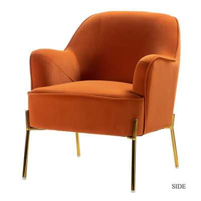 Erastus Armchair - Orange - Wayfair
