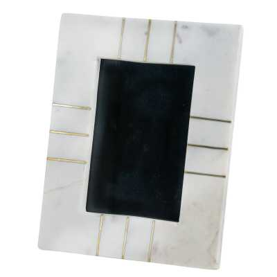 Harnish Marble Picture Frame - 4x6 - Wayfair