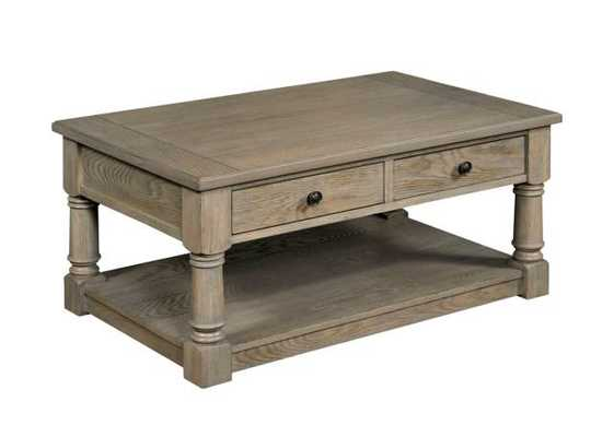 Trixie Coffee Table with Storage - Wayfair