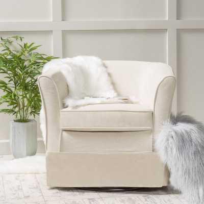 Sevan Swivel Barrel Chair - Wayfair