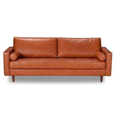 Bombay Leather Sofa - AllModern