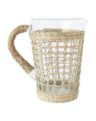 SEAGRASS CAGE PITCHER - McGee & Co.